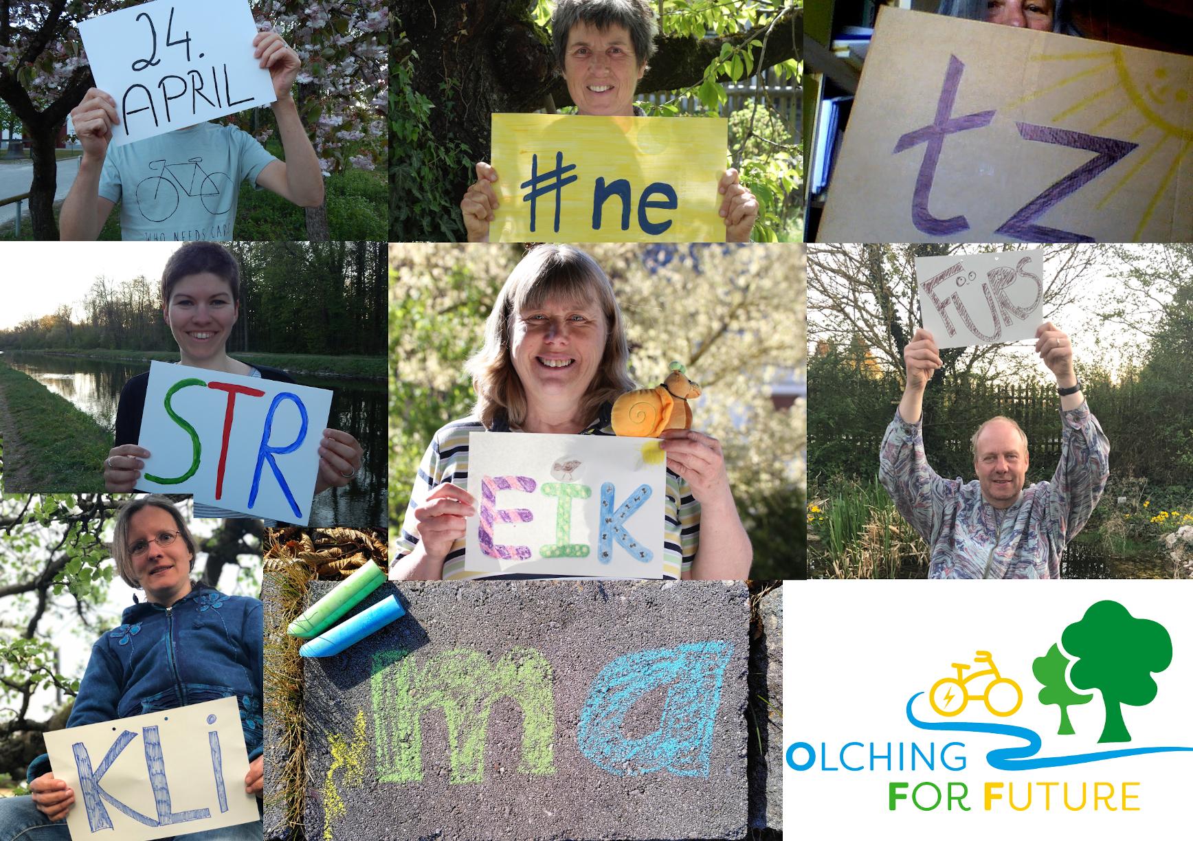 Olching for Future beteiligt sich am weltweiten Klimastreik