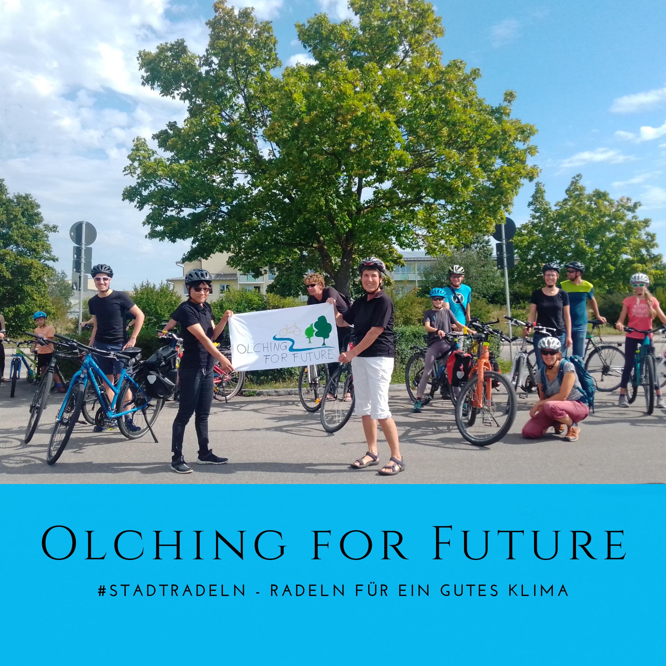 Olching for Future macht beim Stadtradeln mit