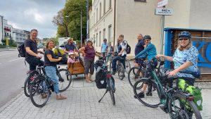 Eindrücke von der Radsternfahrt am 11.09.2021